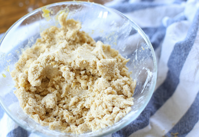 salted peanut chews crumbly crust