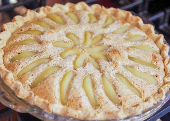 baked pear pie recipe