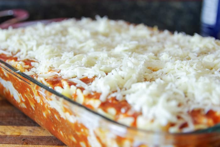 pan of lasagna recipe easy
