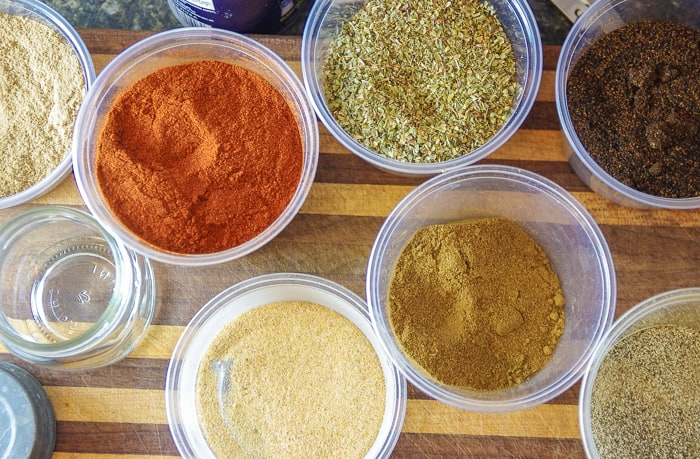 diy taco seasoning spices