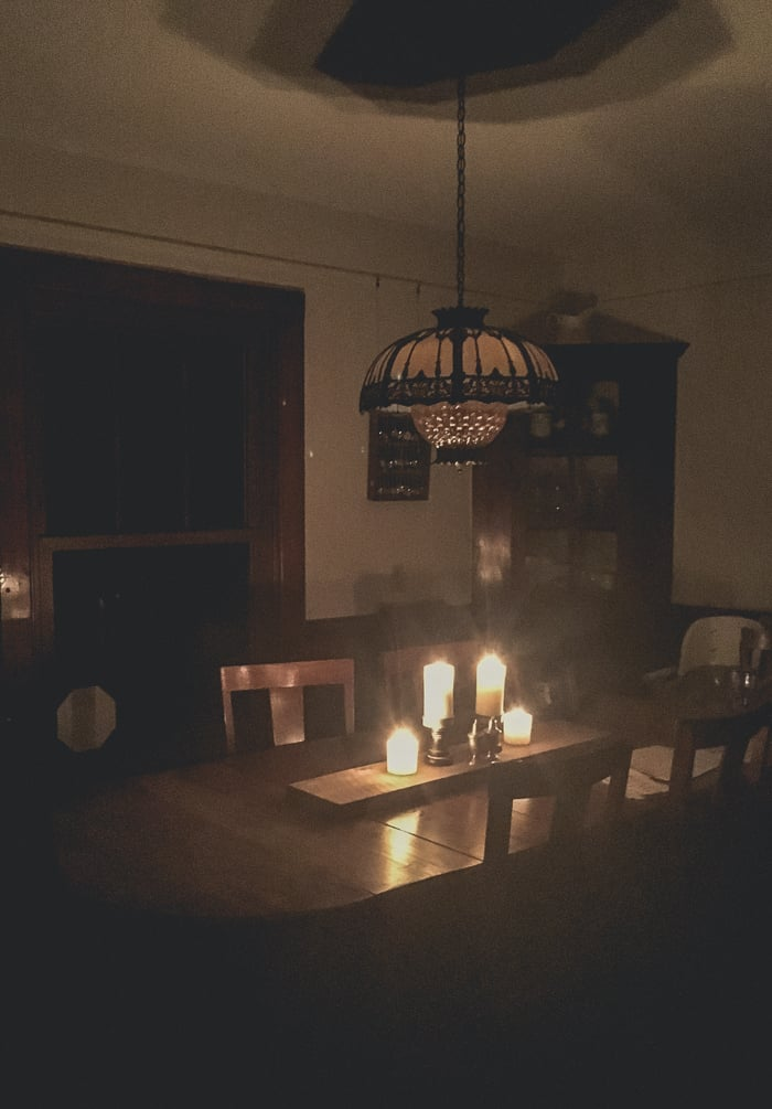 no power in dining room