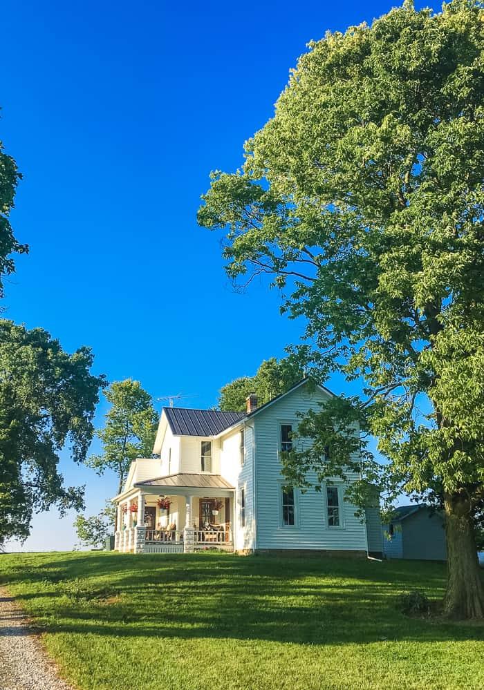 farmhouse in Ohio