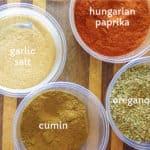 seasoning ingredients for taco seasoning