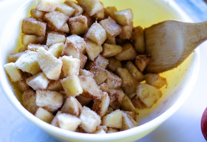 homemade dutch apple pie filling