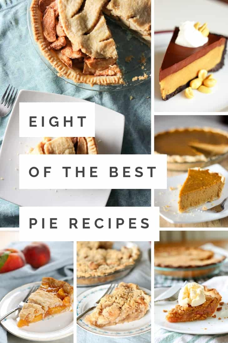 These homemade pies are the best pie recipes ever!  Easy recipes that are perfect for Thanksgiving, Christmas or any season.  Whether you want pumpkin, apple or something with chocolate, these pies are the best!  #pie #bestpie
