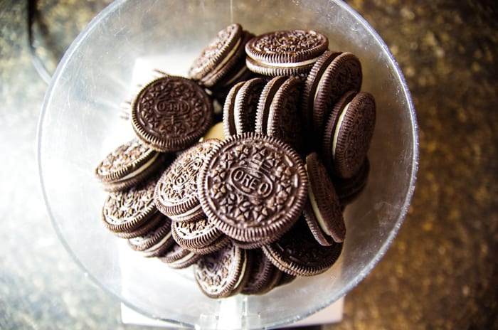 oreos for peanut butter pie crust