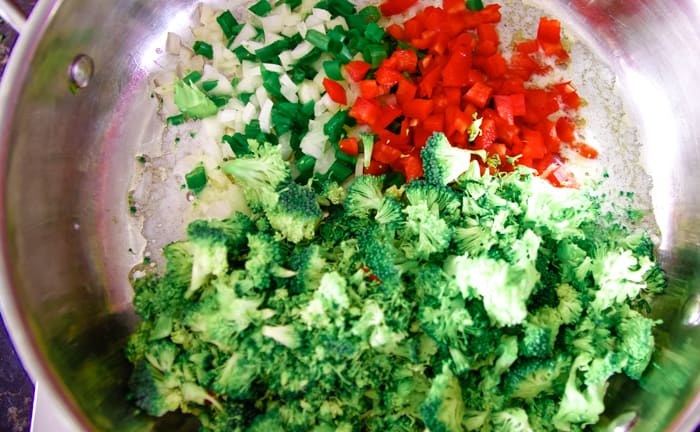 veggies for macaroni casserole