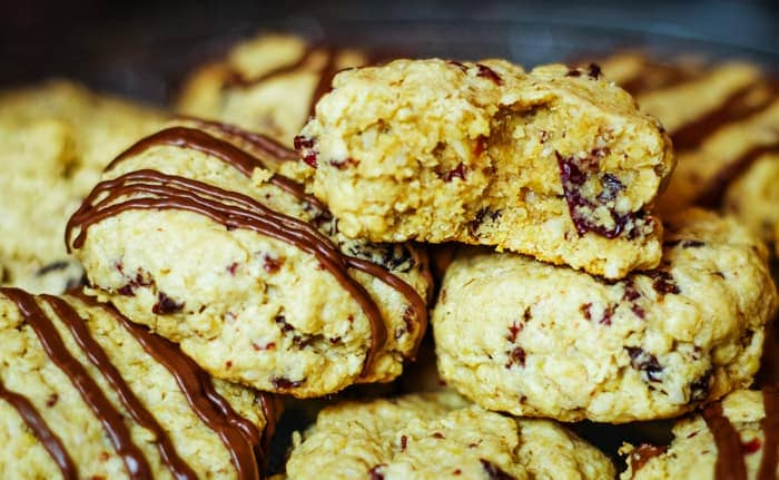 best oatmeal cookies on plate