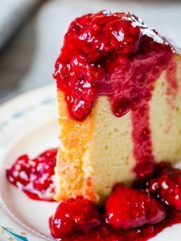 raspberry sauce recipe for ice scream pancakes cheesecake cake