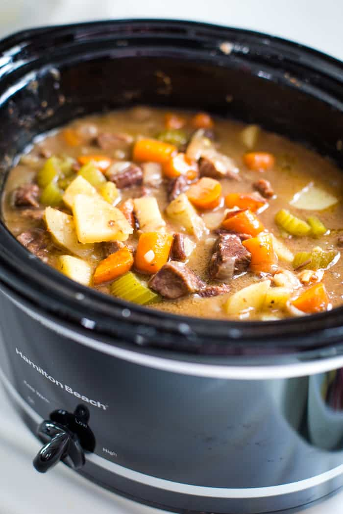 beef stew recipe crockpot fully cooked