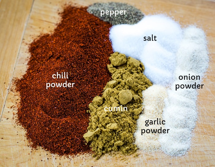 spices that make chili seasoning