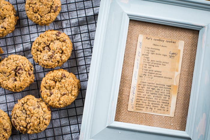 old fashioned recipe for cowboy cookies