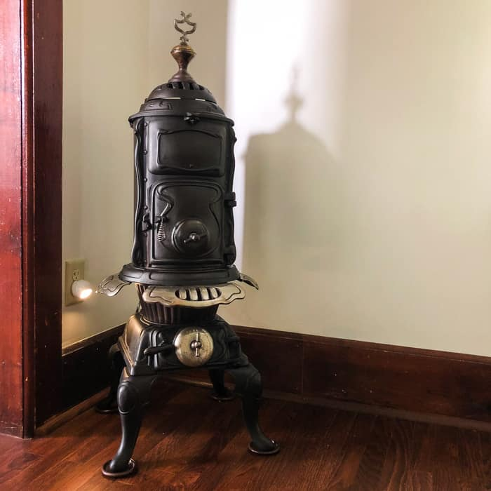 old small stove