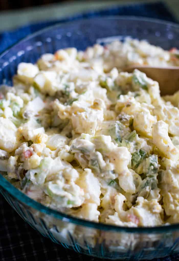 potato salad in bowl
