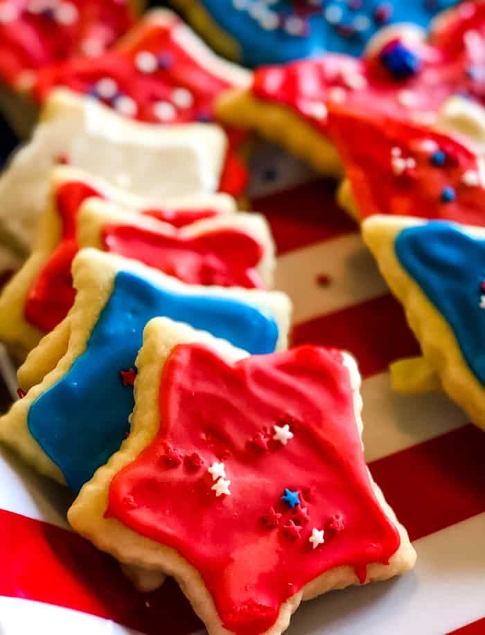 sugar cookies July 4th