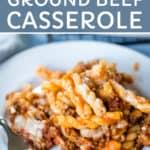 ground beef casserole recipe