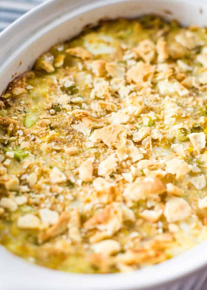 baked hot tuna salad