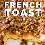 baked french toast in pan