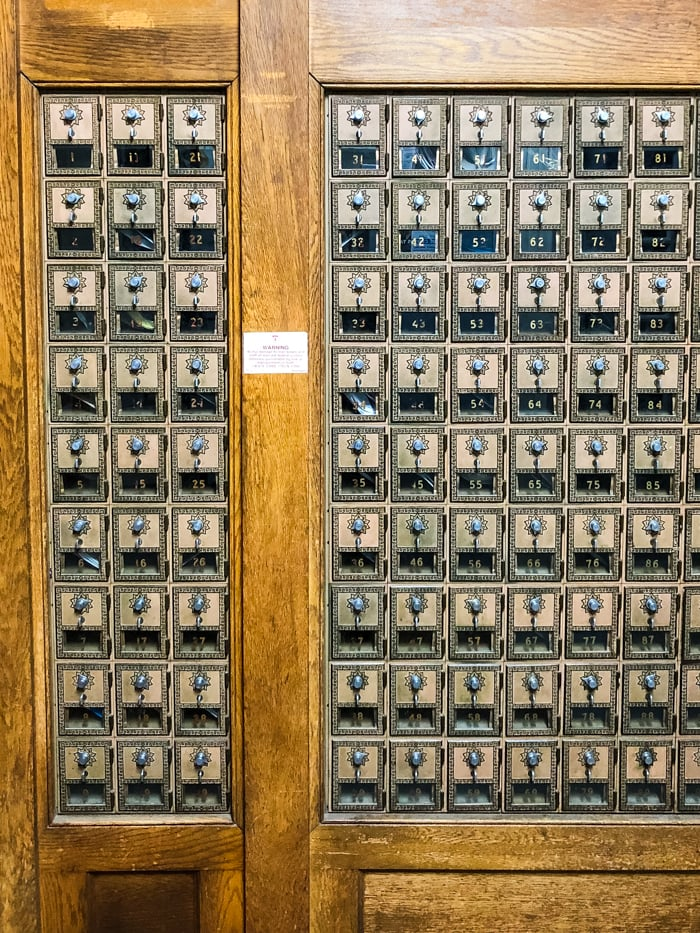 antique mailboxes