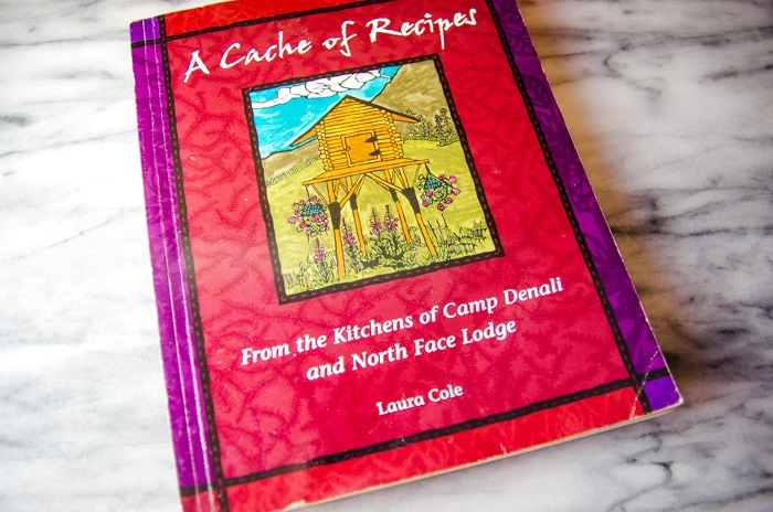 cookbook with recipe