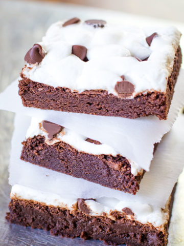 marshmallow brownies from scratch