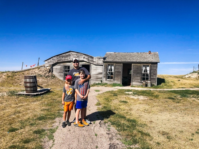 sod house in South Dakota