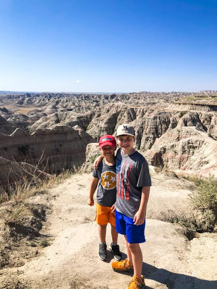 kids in Badlands