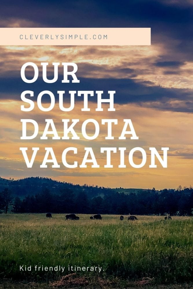 south dakota vacation itinerary