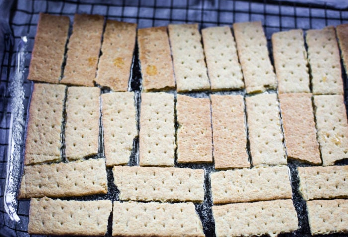 graham crackers first layer