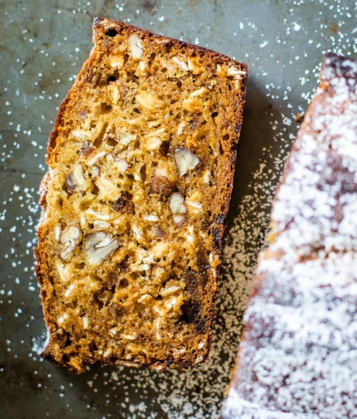 slice of apricot bread
