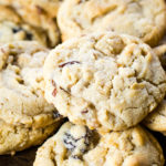 group of oatmeal cookies