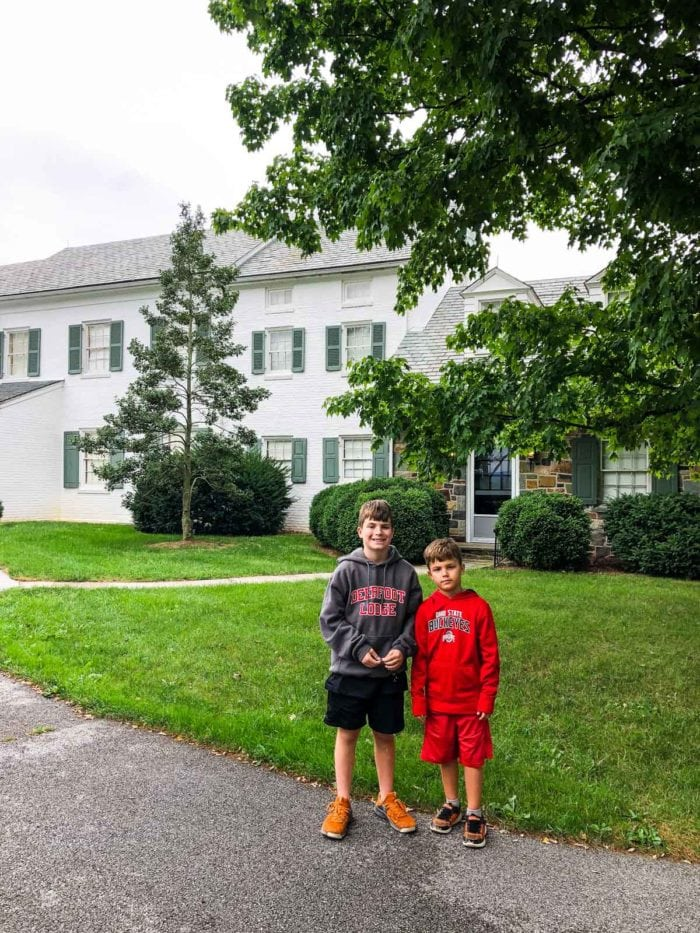 Boys at Eisenhower Home