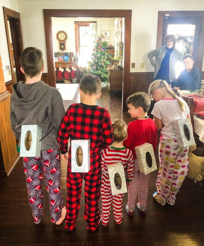 christmas party with kids