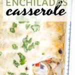 white sauce chicken enchiladas